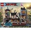 LEGO®-NINJAGO® Les quais de la ville NINJAGO® Jeu pour Enfant 12 Ans et Plus, Briques de Construction Garçon et Fille, 3553 Pièces 70657