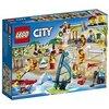 """LEGO City 60153 - """"Stadtbewohner – EIN Tag am Strand Konstruktionsspiel, bunt"""