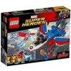 LEGO Marvel Super Heroes 76076 - Captain America: Düsenjet, Superhelden-Spielzeug