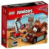LEGO Juniors - Desguace de Mate, Juguete de Construcción Basado en la Película de Pixar, Cars (10733)