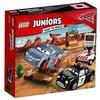 LEGO Juniors - Rayo Mcqueen EnTrenamiento de Willy En la Colina, Juguete de Construcción de la Película Cars (10742)