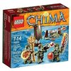 Lego Legends Of Chima - Playthèmes - 70231 - Jeu De Construction - La Tribu Crocodile
