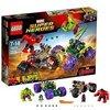 LEGO Marvel Super Heroes - Hulk contre Hulk Rouge - 76078 - Jeu de Construction