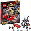 LEGO Marvel Super Heroes - Iron Man : L'attaque de Detroit Steel - 76077 - Jeu de Construction