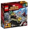 LEGO Super Heroes- Marvel - 76017 - Jeu De Construction - Captain America Contre Hydra