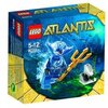LEGO - 8073 - Jeu de Construction - LEGO Atlantis - Le Guerrier Manta