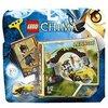LEGO Chima 70104 - Le Porte della Giungla, Lennox, 6-12 Anni
