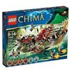 LEGO Legends Of Chima - Playthèmes - 70006 - Jeu de Construction - Le Croc Navire Cragger