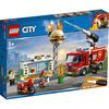 LEGO City Fire (60214). Fiamme al Burger Bar