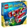 LEGO - 8060 - Jeu de Construction - LEGO Atlantis - Le Sous-marin Turbo