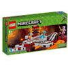 LEGO PER COLLEZIONISTI MINECRAFT  21130 LA FERROVIA DEL NETHER    NUOVO