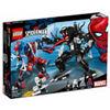 LEGO SUPER HEROES MARVEL 76115 MECH DI SPIDER-MAN VS VENOM   NUOVO