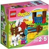 LEGO - 10806 - Duplo - Jeu de Construction - Les Chevaux