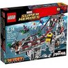 LEGO - 76057 - Marvel Super Heroes - Spider-man : le Combat Suprême Sur le Pont des Web Warriors