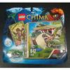 LEGO  LEGENDS OF CHIMA 70112 GRUG MORSO DEL COCCODRILLO  NUOVO