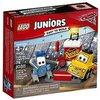 Lego Juniors-10732 Puesto de reparación de Guido y Luigi, Multicolor, Miscelanea (10732)
