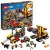 LEGO City 60188 - Bergbauprofis Bergbauprofis an der Abbaustätte, Kinderspielzeug