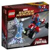 LEGO Super Heroes- Marvel - 76014 - Jeu De Construction - Spider-Trike Contre Electro