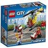 LEGO city Starter Set Aeroporto Costruzioni Gioco Bambina Giocattolo, Multicolore, 60100
