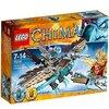 LEGO Legends Of Chima- Playthèmes - 70141 - Jeu De Construction - Le Planeur Vautour des Glaces