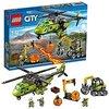 LEGO city Elicottero Dei Rifornimenti Vulcanico Costruzioni Gioco Bambina, Colore Vari, 60123