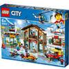 LEGO CITY TOWN  STAZIONE SCIISTICA PEZZI 806 ETA