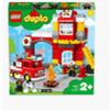 LEGO DUPLO TOWN CASERMA DEI POMPIERI  CON LUCI E SUONI  PEZZI 76  ETA