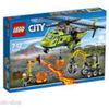 LEGO CITY ELICOTTERO DEI RIFORNIMENTI VULCANICO - 60123