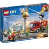 LEGO City: Burger Bar Fire Rescue Engine Toy (60214)