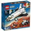 LEGO CITY SPACE PORT 60226 SHUTTLE DI RICERCA SU MARTE NUOVO