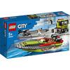 LEGO City Great Vehicles (60254). Trasportatore di motoscafi