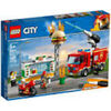 LEGO City Fire Fiamme Al Burger Bar 60214 60214 LEGO