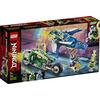 LEGO Ninjago (71709). I bolidi di velocità di Jay e Lloyd
