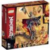 LEGO NINJAGO: Fire Fang Snake Toy for Kids (70674)