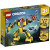 LEGO Creator: 3in1 Underwater Robot Building Set (31090)