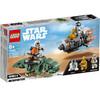 LEGO Star Wars - Capsule de sauvetage contre Microfighter Dewback (75228)