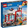 LEGO City - La caserne de pompiers (60215)