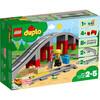 LEGO Duplo - Les rails et le pont du train (10872)