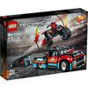 LEGO Technic - Le spectacle de cascades du camion et de la moto (42106)
