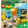 LEGO DUPLO Town: Truck and Tracked Excavator (10931)