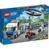 LEGO City Police Trasportatore Di Elicotteri Della Polizia Kit 60244 60244 LEGO