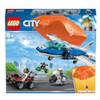 LEGO® City: Arresto con il paracadute della Polizia aerea (60208)