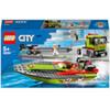 LEGO® City: Trasportatore di motoscafi (60254)