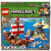 LEGO® Minecraft™: Avventura sul galeone dei pirati (21152)