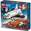 LEGO CITY SPACE PORT SHUTTLE DI RICERCA SU MARTE PEZZI 273  ETA