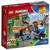 Lego Sa (FR) 10750 Juniors City - Jeu de construction - Le camion de réparation des routes
