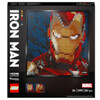 LEGO Art Marvel Studios Iron Man Wall Décor Set (31199)