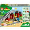 LEGO DUPLO Town: Train Bridge and Tracks Building Set (10872)