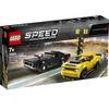 LEGO Speed Champions (75893). 2018 Dodge Challenger SRT Demon e 1970 Dodge Charger R/T