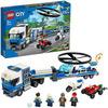 LEGO City Police (60244). Trasportatore di elicotteri della polizia
